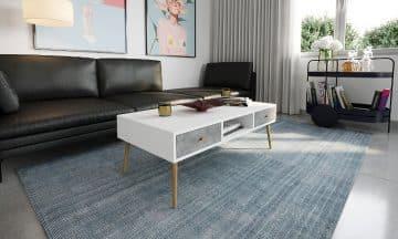שולחן מודרני דגם נאפולי בשניים עשר צבעים לבחירה