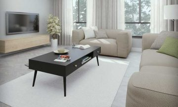 שולחן מודרני דגם נאפולי בשישה צבעים לבחירה
