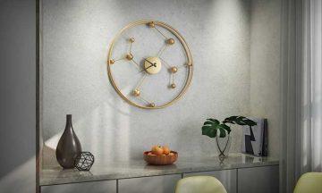 שעון קיר מרהיב דגם נוטיגהם