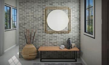 מראת קיר גדולה מודרנית דגם אוקספורד