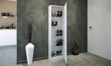 ארון נעליים משולב מראה דגם אוסטין