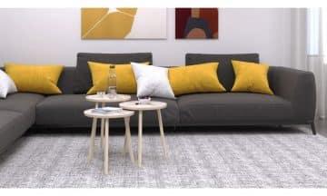 שלישיית שולחנות סלון מדורגים במגוון צבעים לבחירה דגם סרגוסה