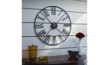 שעון קיר מודרני בשני צבעים לבחירה דגם רדינג
