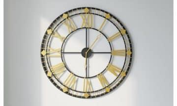 שעון קיר גדול מעוצב דגם אורלנדו